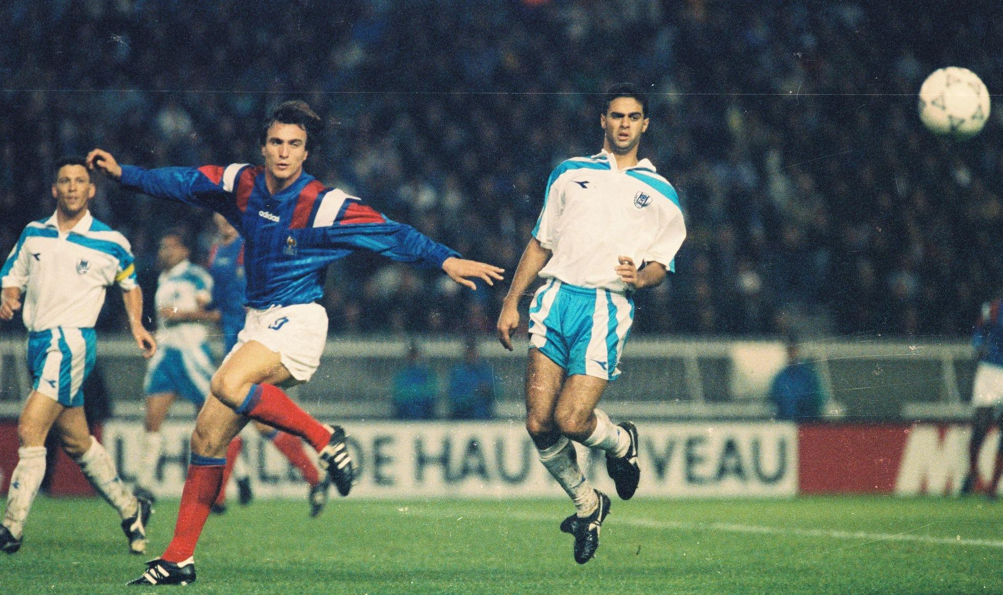 FOOTBALL : FRANCE VS ISRAEL - 1993