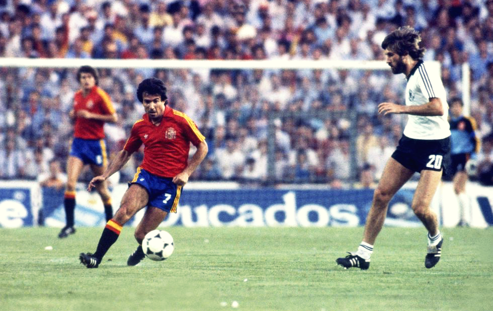 99f592550f1 The Spain before glory at World Cup 1982