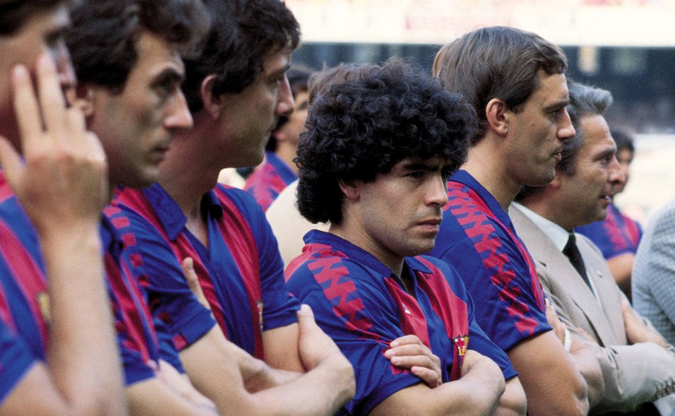 Maradona Nunez Barcelona